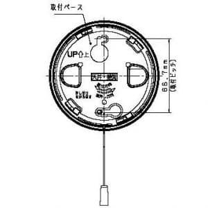 パナソニック 住宅用火災警報器 《ねつ当番》 薄型 定温式 電池式・移報接点なし 警報音・音声警報機能付 SHK38155 画像3