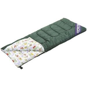 パール金属 NEWフォリアシュラフ 寝袋 封筒型 3シーズン対応 収納バック付 高山植物柄 《CAPTAIN STAG》 M-3412