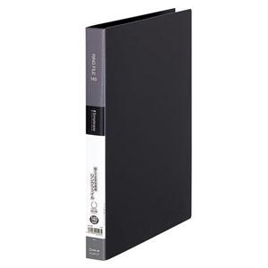 キングジム シンプリーズリングファイル A4タテ型 内径19mm 2穴 紙寄せ2枚・表紙ポケット付 黒 641SPクロ