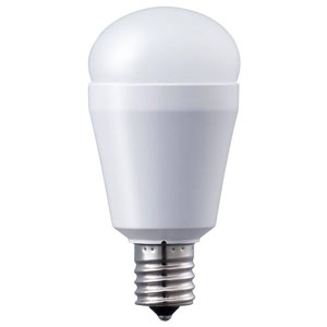 パナソニックLED電球 小形電球形 60W相当 下方向タイプ 昼白色 E17口金 密閉型器具・断熱材施工器具対応LDA7N-H-E17/E/S/W/2