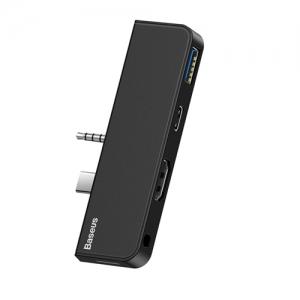 BASEUS(ベースアス) USBハブアダプター USB~Surface Go ブラック DCAHUBFT01