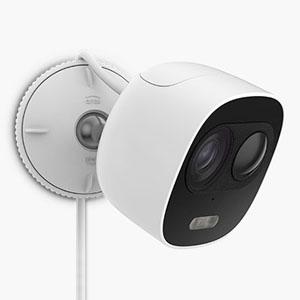 SREE(スリー) クラウド対応ワイヤレスカメラ 《relica ワイヤレス》 防水タイプ 固定焦点2.8mm 屋外型 RLC003C