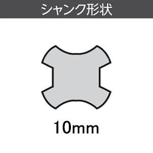 ユニカ 多機能コアドリルエアコン工事用セット(VFD) クリアケースセット 《UR21》 SDSシャンク 口径65mm シャンク径10mm UR21-VFD065SD 画像3