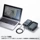 サンワサプライ 赤外線センサー内蔵セキュリティカメラ CMS-SC01GY 画像7
