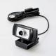 ELECOM(エレコム)Full HD対応WebカメラWEBCAM-102BK