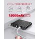 べステック ポータブル電源 バッテリー容量45000mAh MRP450A-1510 画像4