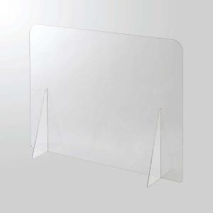 ELECOM アクリルパーティション 1面タイプ 窓なし PSI-PTAR02CR