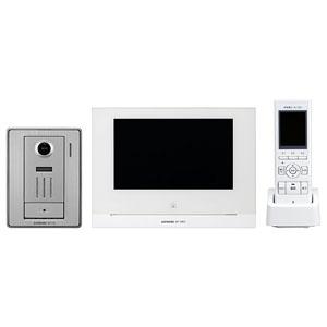 アイホン テレビドアホンワイヤレスセット AC電源直結・スマートフォン連動式 親機+玄関子機+ワイヤレス子機 WP-24A 画像1