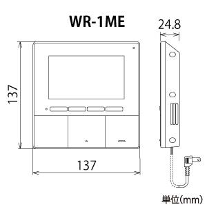 アイホン ワイヤレステレビドアホンセット AC電源プラグ式 親機+玄関子機 WR-11 画像2