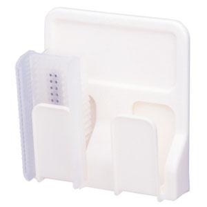サラヤ 衛生手洗いブラシ専用ホルダー 2個用 壁付型 21497