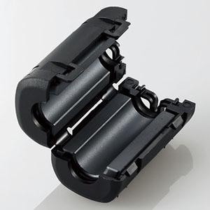 ELECOM フェライトコア 適応ケーブル径φ5.0~8.7mm NF-59S