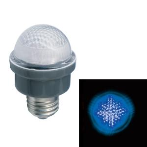 ジェフコム LEDサイン球 屋外用 口金E26 青 PC12W-E26-B