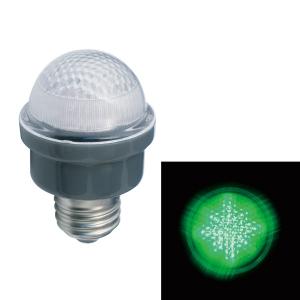 ジェフコム LEDサイン球 屋外用 口金E26 緑 PC12W-E26-G