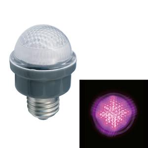 ジェフコム LEDサイン球 屋外用 口金E26 ピンク PC12W-E26-P