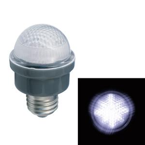 ジェフコム LEDサイン球 屋外用 口金E26 白 PC12W-E26-W