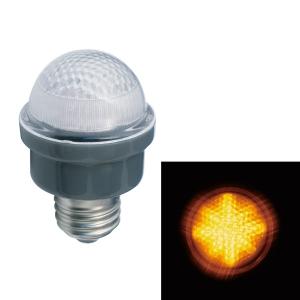 ジェフコム LEDサイン球 屋外用 口金E26 黄 PC12W-E26-Y