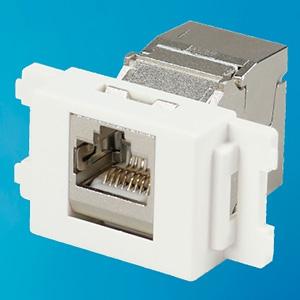 ジェフコム キーストンジャック カテゴリー6A用 芯線導体径AWG26~22対応 LKJ-6A