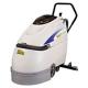 リンレイ 自動床洗浄機 《Rook17ZERO》 充電式 17インチ ディスク式 手押し型 清掃能力800㎡/h 909017
