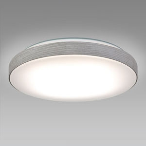 NEC LEDシーリングライト ~12畳用 調光・調色タイプ 昼光色+電球色 リモコン付 スモーキーホワイト HLDC12234SG