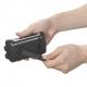 YAZAWA(ヤザワ) 手回し・ソーラー・USB充電式 電池が不要!AM/FMラジオ BL109RMSDBK 画像3