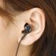 YAZAWA(ヤザワ) 【在庫限り】ボリューム付片耳イヤホン 5.0m カナルタイプ Y01TMS1085BK 画像3