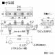 篠原電機 バック配線タイプ接地用端子台 100A AT-100B 画像2