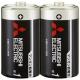 三菱 マンガン乾電池(黒) 単1形 2本パック R20PUD/2S