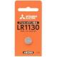 三菱 アルカリボタン電池 1.5V 1個パック×10セット