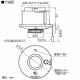 パナソニック 住宅用火災警報器 けむり当番 2種 天井埋込型 AC100V端子式・連動親器 警報音・音声警報機能付 検定品 和室色 SHK28517Y 画像2