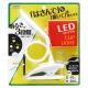 YAZAWA(ヤザワ) 調光式LEDクリップライト 白 Y07CFL05W01WH