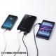 サンワサプライ スマートフォン・タブレット用薄型モバイルバッテリー USB出力ポート2ポート搭載 ブラック BTL-RDC7BK 画像5