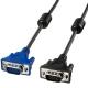 サンワサプライ 極細ディスプレイケーブル 複合同軸ケーブル アナログRGB フェライトコア付 5m KC-VMH5
