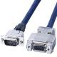 サンワサプライ ディスプレイ延長ケーブル 複合同軸ケーブル アナログRGB ストレート全結線 6m KB-CHD156FN 画像1