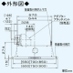 パナソニック スマートスクエアフード 局所換気専用 3段速調付 60cm幅 適用パイプ:φ150mm シルバー FY-6HZC4-S 画像2