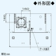 パナソニック スマートスクエアフード 局所換気専用 3段速調付 75cm幅 適用パイプ:φ150mm シルバー FY-7HZC4-S 画像4