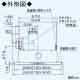 パナソニック スマートスクエアフード 局所換気専用 3段速調付 75cm幅 適用パイプ:φ150mm ブラック FY-7HZC4-K 画像2