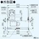 パナソニック スマートスクエアフード 給気シャッター連動形 公共住宅用(BL排気4型)  3段速調付 60cm幅 適用パイプ:φ150mm ホワイト FY-6HZC4S4-W 画像3