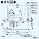 パナソニック スマートスクエアフード 手元スイッチタイプ 公共住宅用(BL排気4型)  3段速調付 60cm幅 適用パイプ:φ150mm ブラック FY-6HZC4R4-K 画像3