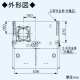 パナソニック スマートスクエアフード 手元スイッチタイプ 公共住宅用(BL排気4型)  3段速調付 60cm幅 適用パイプ:φ150mm ブラック FY-6HZC4R4-K 画像4
