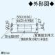 パナソニック 浅形レンジフード ターボファンタイプ 局所換気専用 角ダクト接続形 60cm幅 排気口寸法:300×110mm FY-60HF4 画像4