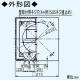 パナソニック 自然給気口 壁取付形 差圧感応式 適用パイプ:φ150mm ホワイト FY-DRV062-W 画像2