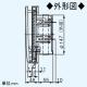 パナソニック 自然給気口 壁取付形 差圧感応式 適用パイプ:φ150mm ホワイト FY-DRV062-W 画像3
