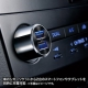 サンワサプライ スマートフォン・タブレット用USBカーチャージャー 高出力タイプ 合計4.2A USB2ポート CAR-CHR70U 画像3