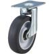 トラスコ中山 取り替えキャスター weego専用 自在式 省音タイプ 車輪径75mm オフホワイト TYEF-75ELB-WC-OW 画像1