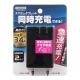 YAZAWA(ヤザワ) 【在庫限り】3.4A USBアダプター ブラック Y02C200BK2U 画像1