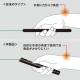 サンワサプライ グリーンレーザーパワーポインター Bluetooth4.0&2.4GHzワイヤレス両対応 LP-RFG105GM 画像5