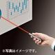 サンワサプライ レーザーポインター ストラップホール クリップ付 ステンレス鋼製 シルバー LP-ST300S 画像3