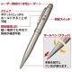 サンワサプライ レーザーポインター ボールペン付 ウォームシルバー LP-RD306S 画像2