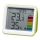 YAZAWA(ヤザワ) 【在庫限り】時計付き置き型デジタル温湿度計 グリーン DO03GR 画像3