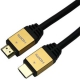 ホーリック ハイスピードHDMIケーブル イーサネットチャンネル(HEC)対応 長さ1.0m ゴールド HDM10-881GD